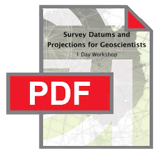 Survey Datums & projections pdf